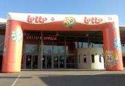 Lotto straatboog rechte hoeken