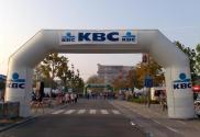 KBC - boog met verwisselbare banners
