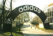 Ronde startboog Adidas