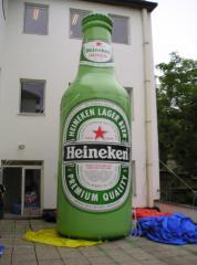 Heineken opblaasbare fles