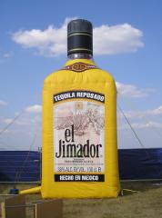 Tequila Resposado opblaasbare fles